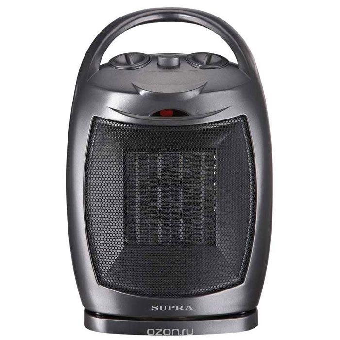 Тепловентилятор SUPRA TVS-15PS black